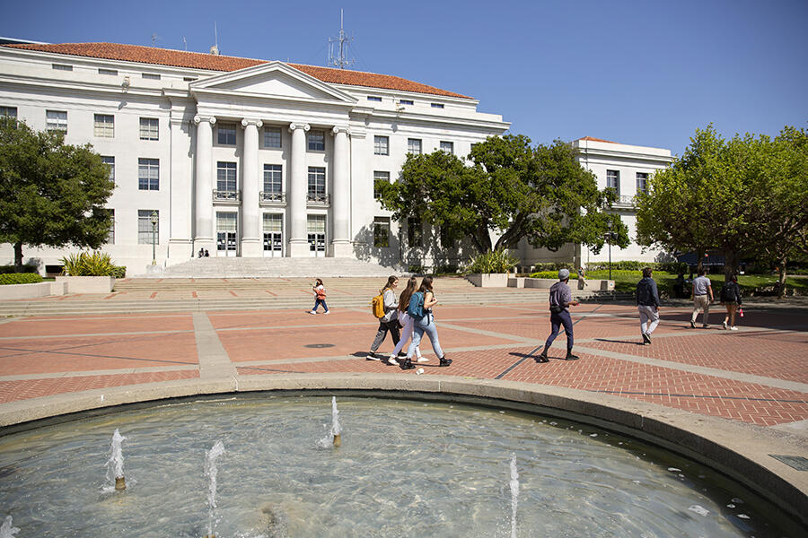 Sproul Plaza and Fountain